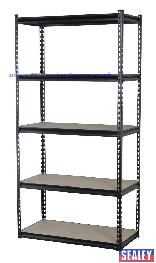 Racking Unit with 5 Shelves 340kg Capacity Per Level